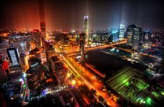 Downtown Beijing After Rain | Flickr - Photo Sharing!