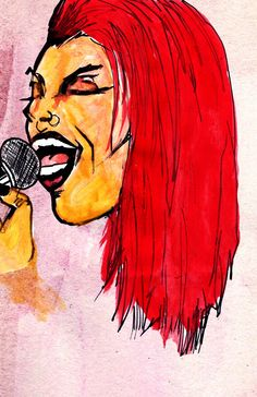 Art By Beren Davis prints for sale @ Society6.com/BerenDavisDesigns