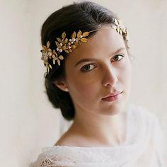 strass main coiffe de mariée Roman cristal cheveux de mariée accessoires de mariage / bandeaux d'occasion spéciale - EUR € 59.99