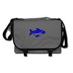 Geschenke Shop | Haifisch - Umhängetasche Laptop, Backpacks, Bags, Fashion, Zipper Bags, Pisces, Hang In There, Handbags, Moda