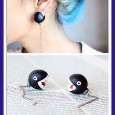 shark earrings!!