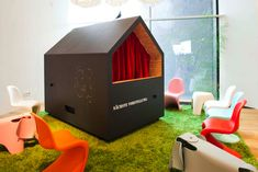 amazing playroom theater for kids by vitra