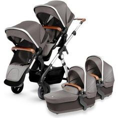 2018 Silver Cross Wave and Maxi Cosi Mico Max 30 Travel System Double Stroller For Twins, Double Baby Strollers, Twin Strollers, Double Prams, Convertible Stroller, Baby Bassinet, Travel System, Baby Carriage, Tandem