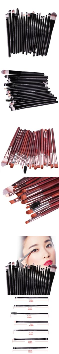 High Quality New 20pcs Makeup Brushes Synthetic Make Up Brush Set Tools Accessories Professional Cosmetics Kit