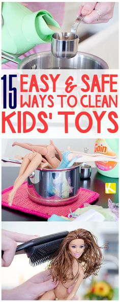 15 Easy & Safe Ways to Clean Kids' Toys