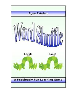 Thisis a terrific word game that strengthens language skills and processing speed. Players quickly conceptualize and use literary terms, figurative language, grammar and basic language skills. There are 3 levels (elementary, middle school & high school) so players of all ages can have fun playing against themselves or others.