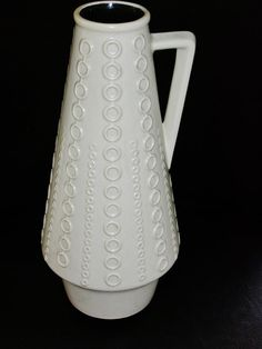 Vintage Clemens & Huhn ceramic handled vase by vintage2remember, €60.00
