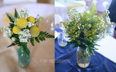 summer country wedding || flowers
