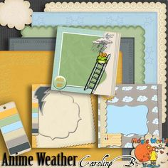 Anime Weather Special Papers - $2.49 : Caroline B., My Magic World of Digital Design