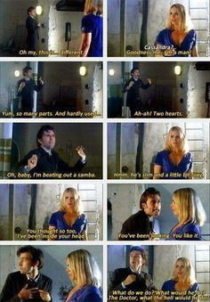 Watching David Tennant change characters like that so abruptly is my favorite thing