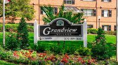Grandview Village Apartments | Villages of Parkland | Southeast DC Apartments for Rent | Property Sign |