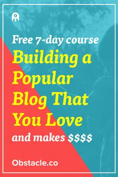 Ready to quit your job with the money you make from blogging? Learn how popular blogs are created so that you can make money and forget your boss.