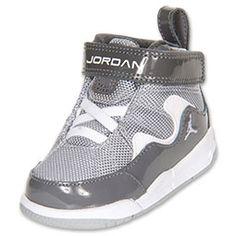 Boys Toddler Jordan Flight TR 97 Basketball Shoes| FinishLine.com | Grey/White