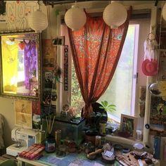 Room Design Bedroom, Room Ideas Bedroom, Bedroom Decor, Grunge Room, Indie Room, Cute Room Decor, Aesthetic Room Decor, Cozy Room, Dream Rooms