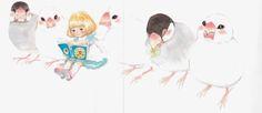 "Chika Umino ""March in like lion"" 羽海野チカ「3月のライオン」 Like A Lion, Manga Illustration, Shoujo, March, Japan, Cute, Artists, Sweet, Candy"
