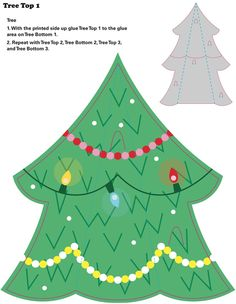 Welcome to Dover Publications My Christmas Tree: An Easy to Make Tabletop Model