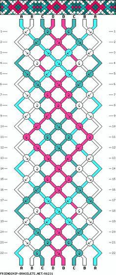 8 fils - 4 couleurs