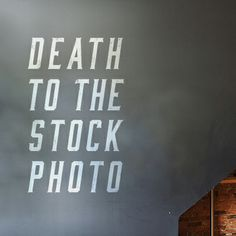 Death to the Stock Photo. Sign up now for high res images to use any way you like!