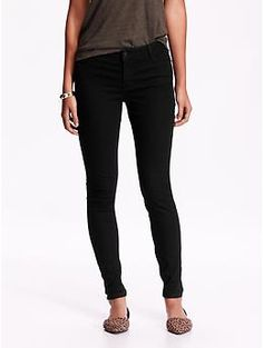 Mid-Rise Super Skinny Jeans | Old Navy ($19)