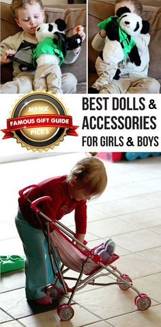 Top dolls for girls and boys - because playing with dolls builds empathy and emotional intelligence in kids. Dramatic Play, Girls Accessories, Toys For Girls, Toddler Toys, Girl Dolls, Gift Guide, Gifts, Parents, Modern