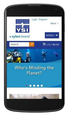 Let us know what you think about the new http://www.YSI.com website! Responsive design and #mobilefriendly.