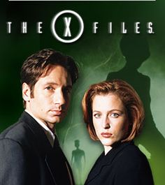 xfiles - sci fi show with David Duchovny as Mulder, fox. and also Gillian Anderson as Dana Scully.
