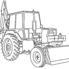 1000 images about transportation coloring pages on for Tractor template to print