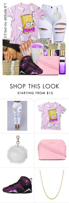 """90's baby"" by brandylovebrandy ❤ liked on Polyvore featuring Topshop and MICHAEL Michael Kors"
