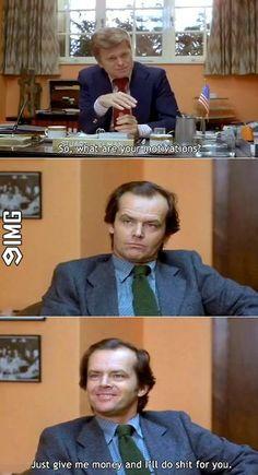 How my job interviews go    #9IMG #funny #meme