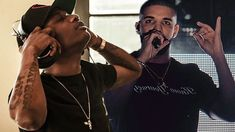 75bd1f87c9be Nigerian pop star Wizkid has hinted a fresh collaborative effort with  Canadian Rapper singer Drake