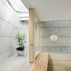 House in Minamimachi 3 by Suppose Design Office Web Design, House Design, Suppose Design Office, Concrete Wood, Dezeen, Modern Minimalist, Modern Architecture, Sweet Home, Contemporary