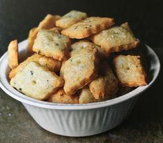 Rosemary gruyere crisps #smittenkitchencookbook