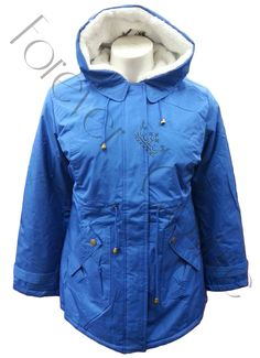 BLUE PADDED 3/4 COAT FUR COLLAR AND HOOD Product Code: 722 SOLD OUTPack of 9 Pieces£26.00 per Piece VAT: 0%  FC