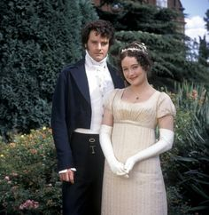 Colin Firth and Jennifer Ehle in Pride and Prejudice ❤
