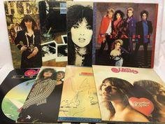 Heart Vinyl Record Lot of 8 Record Albums - Dream Boat Annie, S/T, Magazine etc