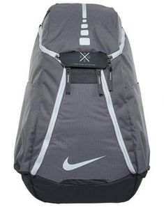 48e21a28d9 Nike Hoops Elite Max Air Team Basketball Backpack Charcoal Dark Grey White  - Designed for to be lightweight