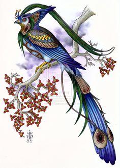 Shadowed Phoenix by *Badhead-Gadroon