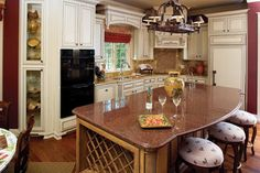 Search house plans from the Donald Gardner portfolio of custom home designs. The best home plans since Custom modification to all floor plans available. Kitchen Photos, Kitchen On A Budget, New Kitchen, Kitchen Decor, Kitchen Ideas, Kitchen Layout, Luxury Kitchen Design, Spring Home, Beautiful Kitchens