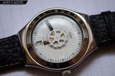 """Spinnin'"" Swatch Irony Automatic (YAS401, 1996)"
