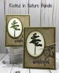 Rooted In Nature Featuring the Handwritten Background Stamp – Just Sponge It!