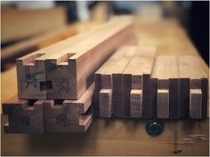 Haunched mortise and tenon joinery for the cabinet stand. Just posted Episode 449 of An Unplugged Life- Stand Joinery Part on the Unplugged Woodshop website. Toronto Life, Mortise And Tenon, Joinery, Craft Projects, Woodworking, Cabinet, Website, Shop, Leather