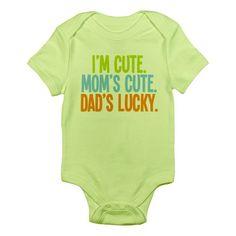 Lucky Dad! Infant Bodysuit