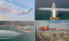The Royal Air Force's Red Arrows paint the skies above Dubai a patriotic red, white and blue in a breathtaking display during their major tour of the Middle East. The aerobatic team is in the region to strengthen trade links and to provide a little taste of back home to the thousands of British ex-pats […]