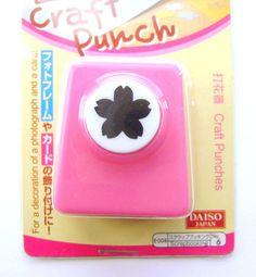 Cherry Blossom Paper Punch Traditional Japanese Flower Sakura Medium Size