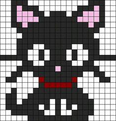 Coolcat perler bead pattern
