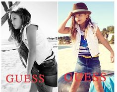 Dannielynn Birkhead is following in her mom's famous footsteps.    Anna Nicole Smith and Larry Birkhead's 6-year-old daughter is the new face of GUESS kids -- posing for the clothing line 20 years after her late mothe