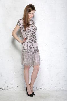 1920s Dresses, Clothing, Shoes for Sale in the UK Fringed Flapper Dress £87.50 AT vintagedancer.com