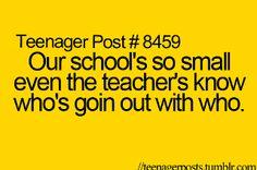 heheh. I love my teacher, how she checks up on all the relationships. She's amazing. hahaha