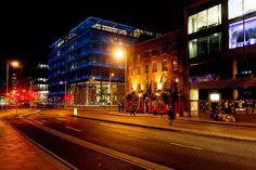 Dublin Docklands At Night - Near The Samuel Beckett Bridge - The Ferryman Pub And Restaurant [The Streets Of Ireland]
