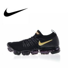 a893d835e Nike Air Vapormax Flyknit 2 Mens Running Shoes Sneakers Sport Outdoor Top  Quality Athletic Designer Footwear